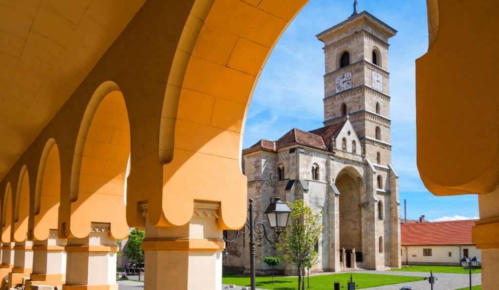 Alba Iulia Cathedral, one of the best day trips to take from Sibiu, Romania.